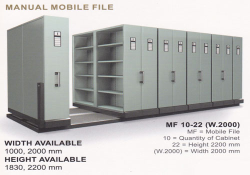compacto Mobile File / Compacto / Roll O Pact