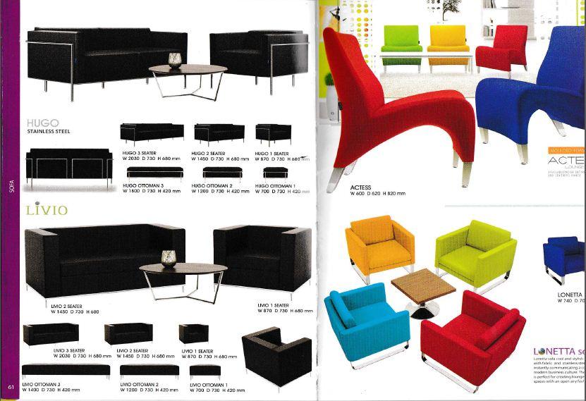 Indachi Sofa 1 Sofa